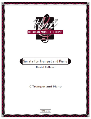 """Sonata for Trumpet and Piano"" by Daniel Kallman"