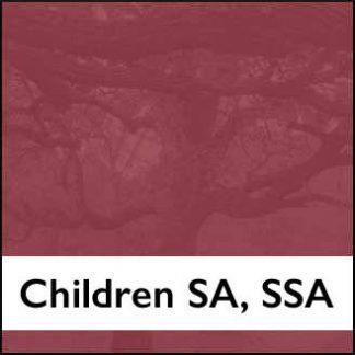 Treble, Children SA, SSA