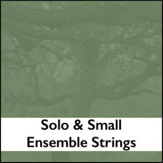 Solo & Small Ensemble Strings