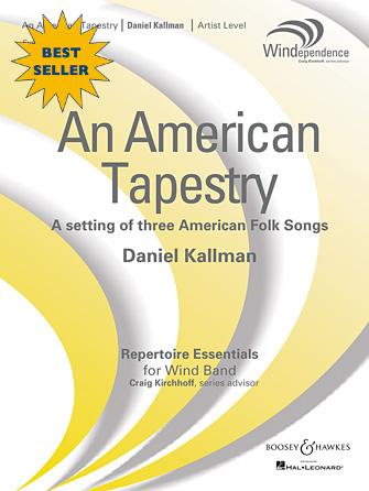 """An American Tapestry"" (full winds version) by Daniel Kallman, for wind ensemble."