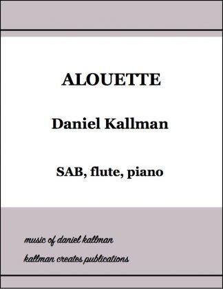 """Alouette"" by Daniel Kallman"