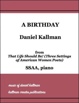 """A Birthday"" by Daniel Kallman"
