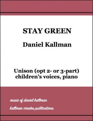 """""""Stay Green"""" by Daniel Kallman"""
